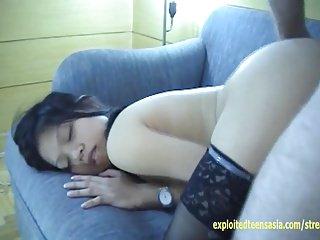 Exclusive Scene Joy Filipino Amateur Teen Babe Talks Dirty